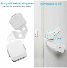 Uigos Baby Safety Locks Children Multi Use Latches Child Proof Cabinets, Toilet