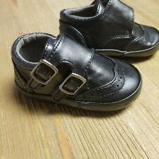 9066488342 Bebé Niño Vestido Negro Zapato Kenneth Cole Reaction Talla 3 Club Monje Tira