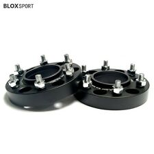 """2X 1"""" 25MM 6X4.5 6X114.3 WHEEL ADAPTERS SPACERS FOR NISSAN NAVARA D40 2005-2016"""