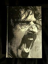 1977 FRANK ZAPPA PLASTIC PEOPLE HARD COVER SONGBOOK 494 PAGES +INSERT BEEFHEART