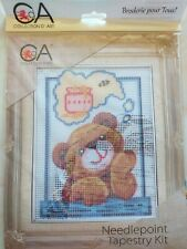 Brand New Needlepoint Tapestry kit.  'Honey Bear'