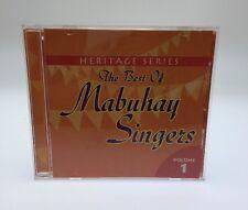 Heritage Series: The Best Of Mabuhay Singers Vol 1 Filipino Cd