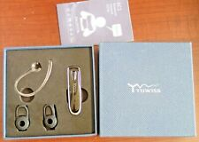 Yuwiss Bluetooth 5.0 Earpiece 24Hrs Playtime Wireless Headset for Cell Phones