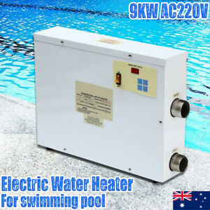 9KW Electric Water Heater Swimming Pool Automatic Water Heating Thermostat AU