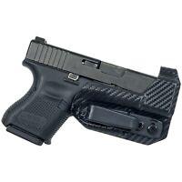 Black Scorpion Gear IWB Trigger Guard Tuckable Holster fits Glock 26, 27, 33
