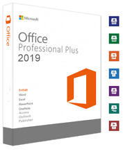 Microsoft Office 2019 Pro Plus Key MS Office Professional Plus Business, Deutsch