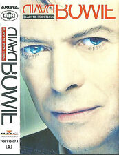 David Bowie ‎Black Tie White Noise CASSETTE ALBUM Electronic Abstract Classic