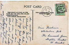 Genealogy Postcard - Family History - Horshave? - Shepton Mallet - Bristol 750A