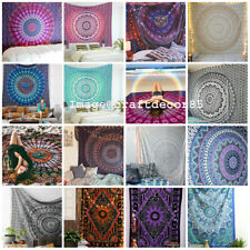 20 Pcs Wholesale Lot Indian Mandala Tapestry Wall Hanging Twin Bedspread Picnic