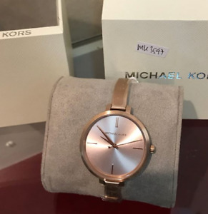 Michael Kors Slim Jaryn Rosegold-tone Ladies Watch MK3547