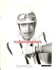 Vintage Gilbert Roland QUITE HANDSOME '55 THE RACERS Race Car Publicity Portrait