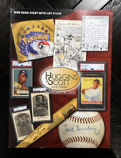 2020 Huggins & Scott February Auctions Catalog Babe Ruth Mickey Mantle on Cover