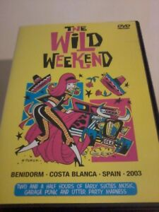 THE WILD WEEKEND Spain 2003 DVD Early Sixties music, Garage Punk POST FREE
