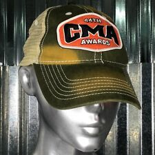 CMA 44th Awards Green Trucker Baseball Cap Vintage Feel One Size Fits Most