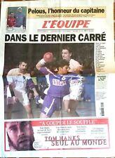 L'Equipe Journal 2/2/2001; Les Handballeurs en 1/4/ Pelous l'honneur/ Ronaldinho