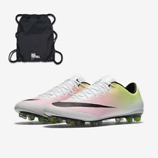 Nike MERCURIAL VAPOR X AG-R Soccer Cleat 717139 107 MEN 13 with Bag FastShip