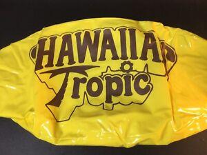 Vintage Hawaiian Tropic Inflatable Beach Ball 1970s NOS 22 Inch