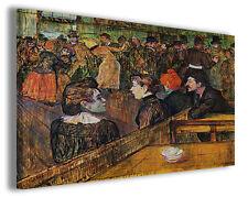 Quadro moderno Henri de Toulouse Lautrec vol IV stampa su tela canvas famose