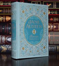 Jane Austen 7 Novels Sense Pride Emma Abbey Leather Bound Sealed Collectible Ed.