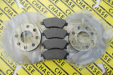 Vauxhall Corsa (C) 00-06 (With Vented 260mm Discs) Front Brake Discs And Pads