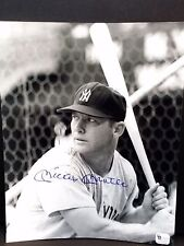 Mickey Mantle signed 8x10 photo GA authenticated