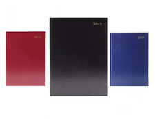 2019 DIARY A4 & A5 PAGE A DAY / WEEK TO VIEW / APPOINTMENT HARD BACK DESK YEAR