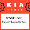 865811J500 Kia Bracketfr bumper upr supt 865811J500, New Genuine OEM Part