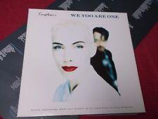 Eurythmics:  We Too are One   orig  German  EX+    1989    LP