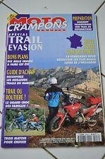 MOTO CRAMPONS HORS SERIE ETE 1994 SPECIAL TRAIL EVASION HONDA 650 DOMINATOR NTV