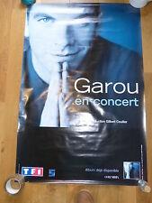 GAROU - Affiche de concert / Tour poster SEUL  !!!