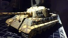 FORCE OF VOLOR 1/32  DIE CAST 1944 KING TIGER TANK EASTERN FRONT