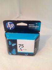 HP 75 Tri Color Ink Cartridge CB337W New in Box