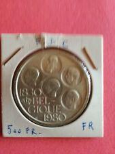 500 Frank zilver frans versie Morin 802 - 12,75 gr zilver