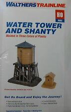 Walthers Trainline Ho #931-906 Water Tower and Shanty - Kit - Tank - New