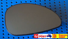 Right side mirror glass to suit CITROEN C4 03/2005 - 09/2011 Heated Convex Blue