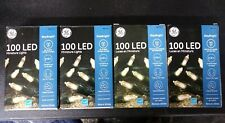 GE StayBright 100-Count 24.75-ft Constant Warm White Mini LED 4 boxes Christmas