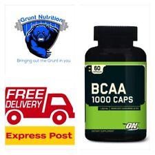 Optimum Nutrition BCAA 1000 Caps Amino Acids 60 Capsules FREE EXPRESS POST BCAA