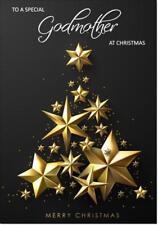 Godmother Christmas Card - Medium Size