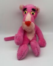 "Vintage Pink Panther Plush Mighty Star 10"" Stuffed Animal"