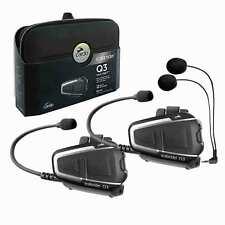 Cardo Scala Rider Q3 Multiset Motorcycle Motorbike Bluetooth Intercom Headsets