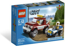 NEW 2012 LEGO CITY FOREST POLICE PURSUIT 4437, NIB, ON HAND, GREAT GIFT!!