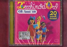 ZECCHINO D'ORO gli anni 80 CD NUOVO SIGILLATO