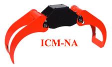 ICM Single Ram Log Grapple GRA-M Series for logs/brush/ties/waste