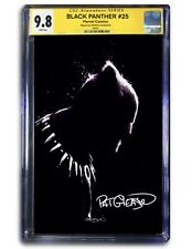 SIGNED - BLACK PANTHER #25 FINE ART VIRGIN EXCLUSIVE - CGC 9.8 SS *PRE-ORDER*
