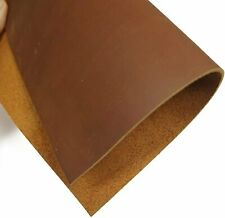 Brown Tooling Leather Square 2.0mm Thick Cow Hide Leather Crafts Tooling...