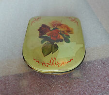 vintage Edward Sharp and Sons small ladies compact shaped sweet tin 12 x10cm