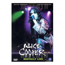 Alice Cooper DVD - BRUTALLY LIVE (*New *Sealed *All Region)