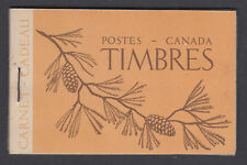 Canada Uni BK39 intact 1947 French Booklet w/ 12mm staple, F-VF