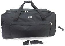 "30"" Large Split Travel Luggage Wheeled Trolley Holdall Suitcase Case Duffel Bag"