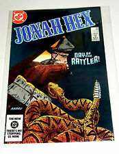 JONAH HEX #80  WESTERN SCARFACE BOUNTY HUNTER - DC BRONZE AGE